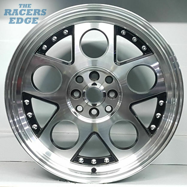 Picture of 17 inch HRE Lambo Reps - 4x100/114 - Black