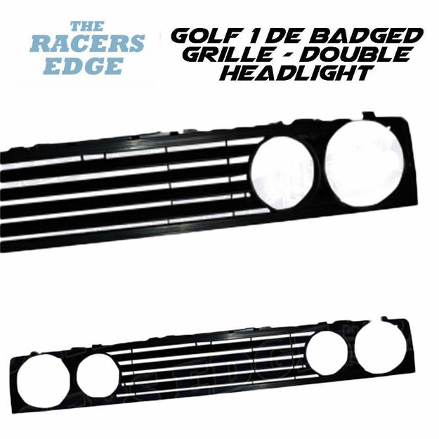 Picture of VW Golf 1 DE Badged grille - Double Headlight